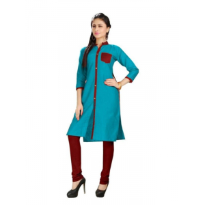 Collared Women's Long Kurti