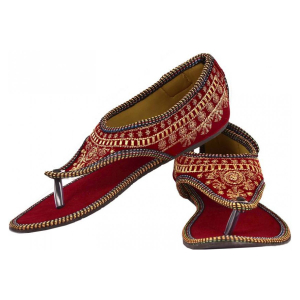 Women's Fabric Ethnic Sandal
