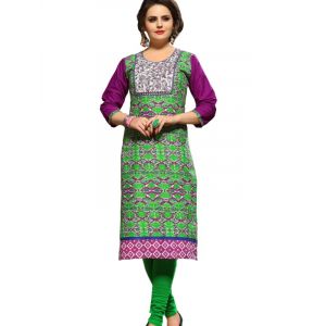 Long Kurti With Thread & Mirror Work