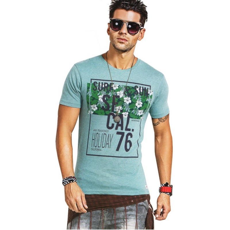 Half Sleeve and Round Neck Style T-shirt