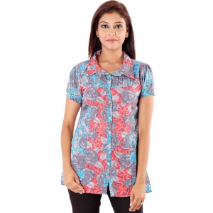 Polyester Printed Short Sleeve Shirt