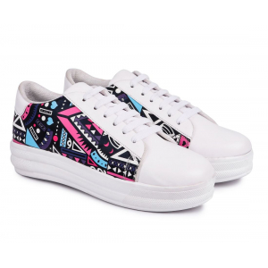 Women Casual Sneakers Lace Up Shoes