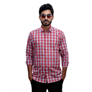 Generic Men's 100% Cotton Men Shirt (Multicolor)