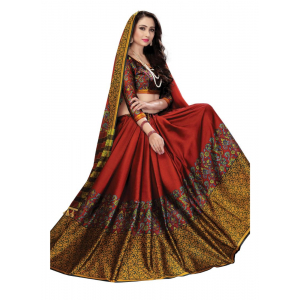 Generic Women's Soft Silk Saree (Multi, 5.5-6mtrs)