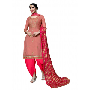 Generic Women's Cotton Salwar Material (Pige , 2-2.5mtrs)