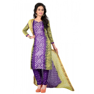 Generic Women's Satin Cotton Salwar Material (Multi, 2-2.5mtrs)