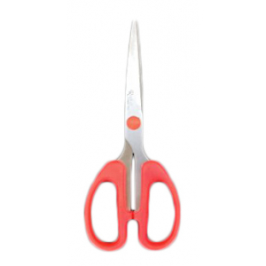 Orange- Stainless steel office Scissor