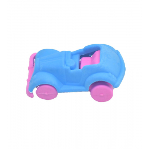 Blue Color Car Eraser
