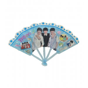 Blue Color Chinese Fan