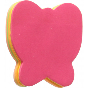 Butterfly Shape, Assorted Colors Sticky Notes
