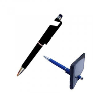 Stylish Pen Mobile Phone Holder-Black