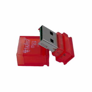 Miro SD Card 3.0 Reader-Red