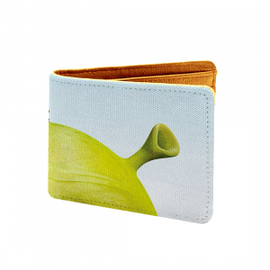 Shrink Design Multi color Canvas, Artificial Leather Wallet