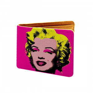Music Design Pink Canvas, Artificial Leather Wallet