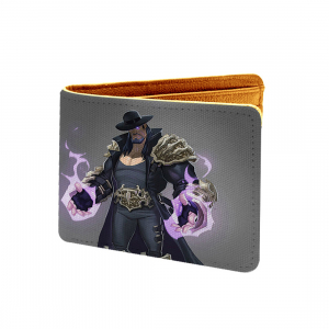 Wwe, Undertaker Design Ash Canvas, Artificial Leather Wallet