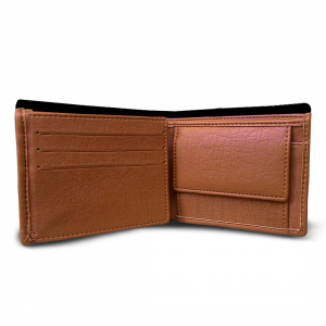 Color Man Design Multi color Canvas, Artificial Leather Wallet