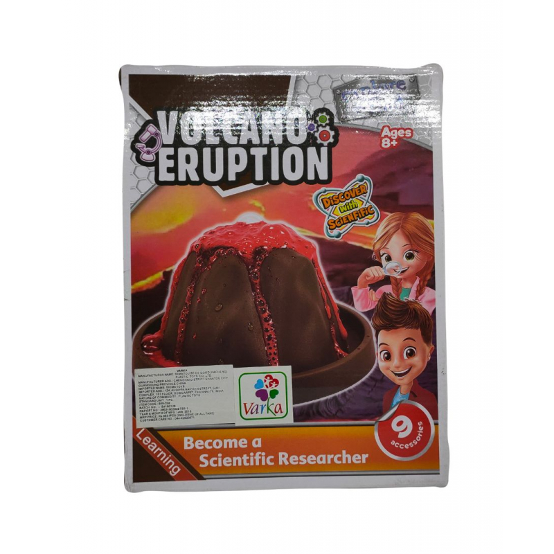 Volcano Eruption with 9 Accessories