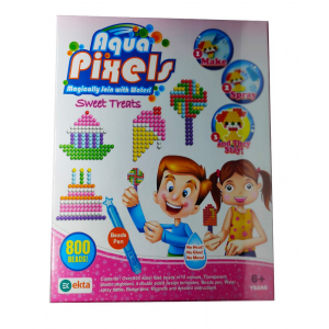 Aqua Pixels-Magically Join with Water