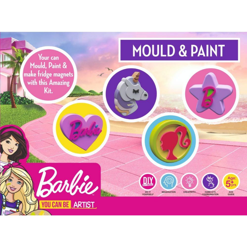 Barbie Mould and Paint