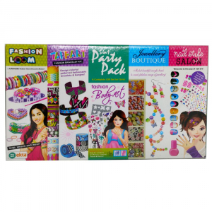 5 in 1 DIY Party Pack for Girls