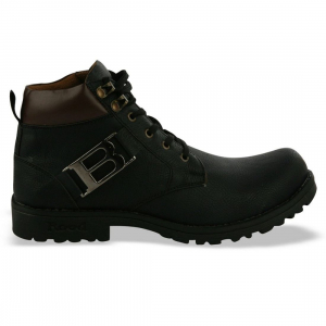 Generic Men Black Color Synthetic Material  Casual Boots