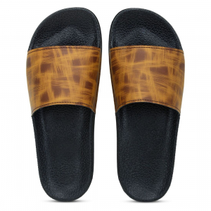 Generic Women Tan Brown Color Synthetic Material  Casual Sliders