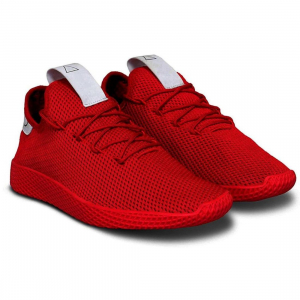 Generic Men Red Color Mesh Material  Casual Sports Shoes