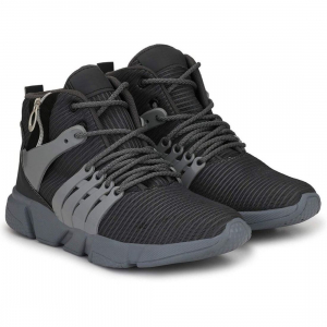 Generic Men Grey,Black Color Mesh Material  Casual Sports Shoes