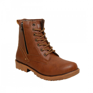 Generic Men Tan Brown Color Synthetic Material  Casual Long Boots