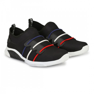 Generic Men Black,White,Blue,Red Color Canvas Material  Casual Sneakers