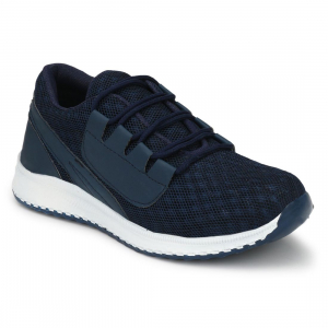 Generic Men's Navy,Blue,White Color Mesh Material  Casual Sports Shoes