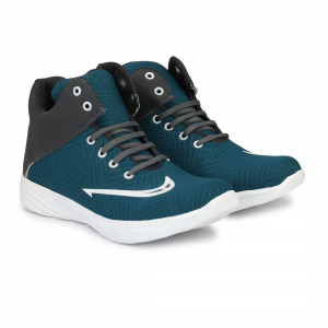 Generic Men Blue,Grey,White Color Canvas Material  Casual Sneakers