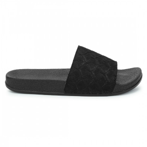 Generic Women Black Color Synthetic Material  Casual Sliders