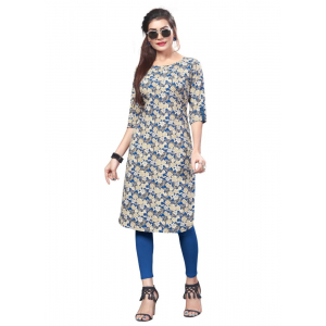 Generic Women's American Crepe Kurti (Multi Color)