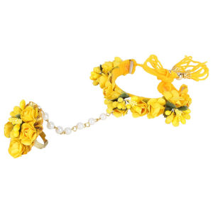 Generic Women's Alloy  Hanging Thread Bracelet-Yellow