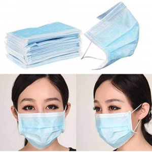 Pack-of-3-pieces Mask-3ply-Disposable-Mouth-Masks