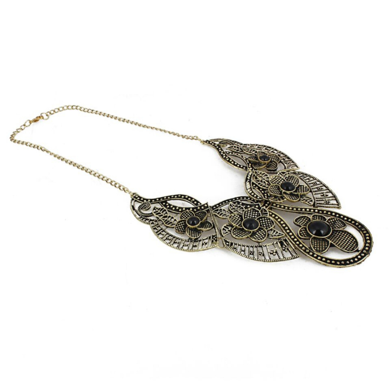 Designer Antique Oxidized Golden Fancy Necklace Fashion Jewellery