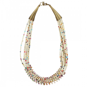 Designer Stylish Multi Layer Beads Necklace
