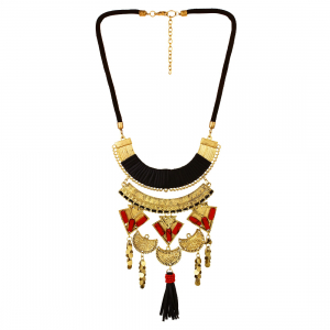 Beads Real Tibetan Beads Oxidized Fashion Necklace