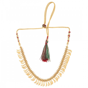 Sleek Designer Gold  Plated Micron Gold Plated Necklace