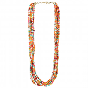 Designer Multi Colour Elegant Beads Necklace