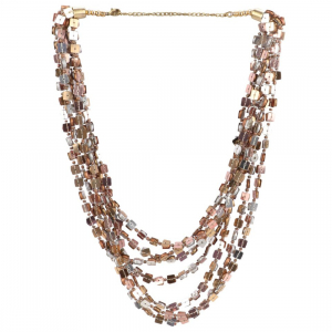 Designer Fashion Multi Layer Beads Necklace