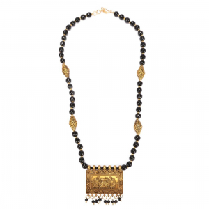 Designer Black Beads Necklace
