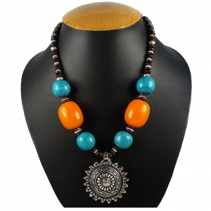 Stylish Pendant Beads Casual Wear Designer Necklace