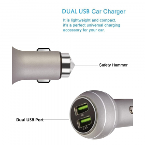 Car Charger Robotex SC-118 3.4 AMP With Auto ID