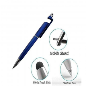 Pen Mobile Phone Holder (Pack of 4 )-Blue