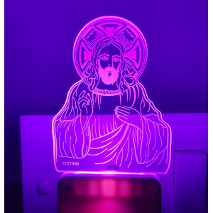 Generic Jesus Christ AC Adapter Night Lamp