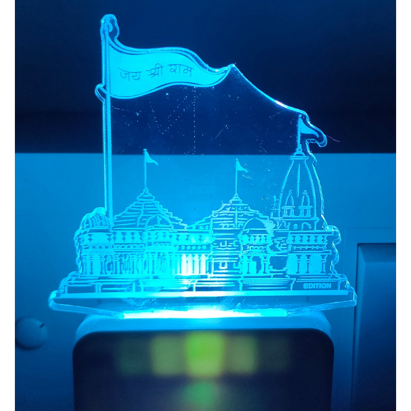 Generic Jain Temple AC Adapter Night Lamp