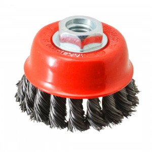 Generic Wire Wheel Cup Brush(Black)