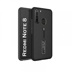 Generic Mobile Case Cover For Redmi Note 8 (Hard Back Case,Color: Black,Material:Plastic)